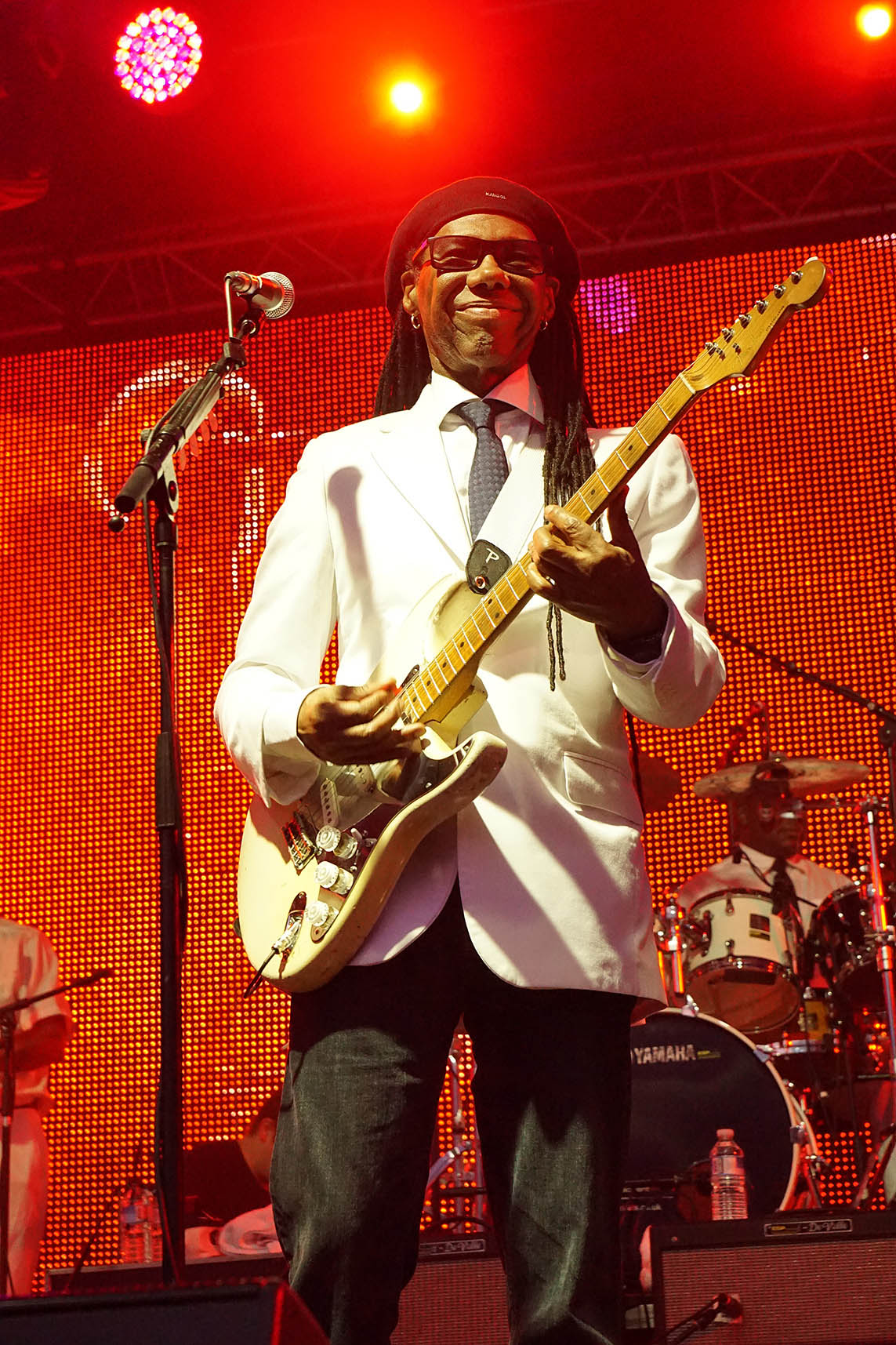 Nile Rodgers and Chic live in concert