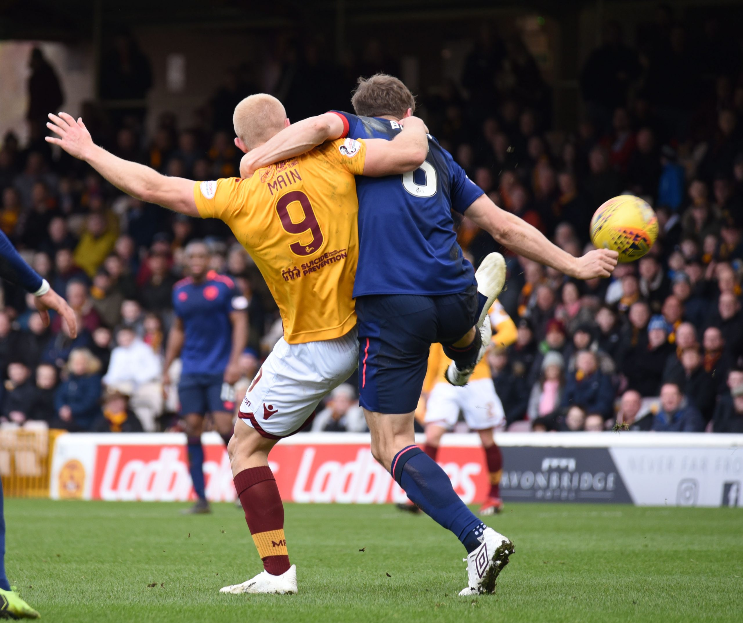 motherwell v Hearts , Scottish premeirship
