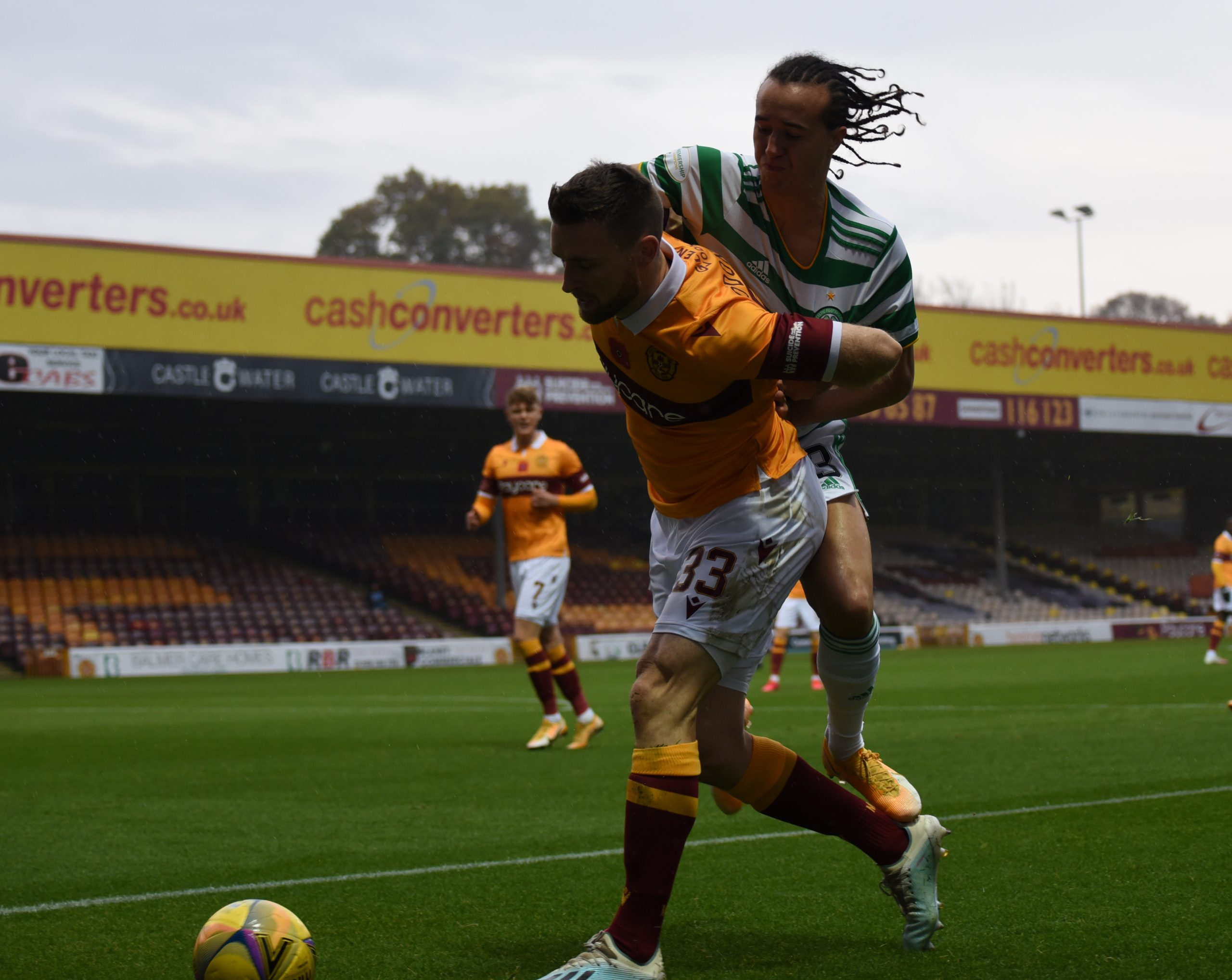 Motherwell v Celtic , 8 November 2020 , Scottish Premiership, photograph by David Rankin , News Pictures Scotland , phone 07723-538941 www.newspicturesscotland.co.uk